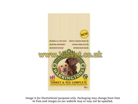Harringtons Adult Complete Rich In Turkey With Veg Dog Food