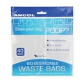 Ancol Bio-Degradable Tie Handle Waste Bags