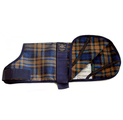 Animate Dog Coat Camel Watch Tartan