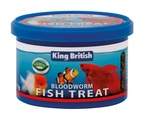 King British Bloodworm Fish Food