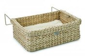 Designed By Lotte Waterhyacinth Wicker Radiator Bed