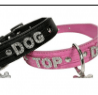 Doggy Things Top Dog Hot Pink Collar