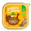 Edgard Cooper Organic Luscious Turkey Adult Dog Wet Food Trays