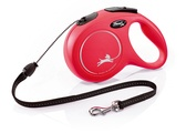 Flexi New Classic Cord Dog Lead 8m Red