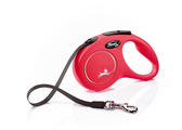 Flexi New Classic Tape Dog Lead 5m Red