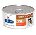 Hill's Prescription Diet a/d Restorative Care with Chicken Canned Dog and Cat Food