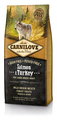 Carnilove Salmon & Turkey for Large Breed Adult Food