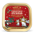 Lily's Kitchen Christmas Turkey & Ham Feast Cat Wet Food