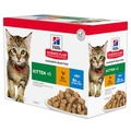 Hills Science Plan Multipack Gravy Kitten Food