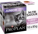 PRO PLAN Nutrisavour Junior Wet Cat Food Turkey