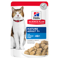 Hills Science Plan Mature Adult 7+ Ocean Fish Wet Cat Food