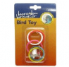 Boredom Breaker Olympic Rings Bird Toy With Bell