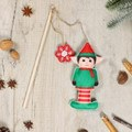 Pet Brands Festive Elf Play And Fill Cat Toy
