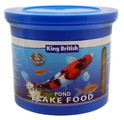 King British Pond Flake Fish Food