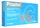Prazitel Worming Tablets for Dogs & Cats