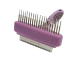Rosewood Combo Comb & Moult Stoppa Brush for Dogs & Cats