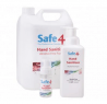 Safe4 Alcohol Free Sanitising Hand Foam