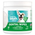 TropiClean Fresh Breath Dental Wipes