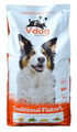 Vegeco V-dog Vegetarian Traditional Flake Dog Food