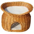 Vital Two Tier Cat Basket Honey + Cushions
