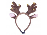 Rosewood Christmas Jingle Bell Antlers for Dogs