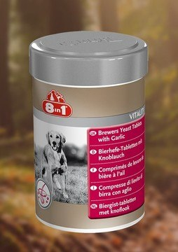8in1 Vitality Brewers Yeast Tablets for Dogs