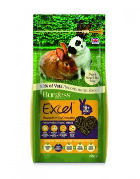 Burgess Excel Tasty Nuggets with Oregano Adult Rabbit Food