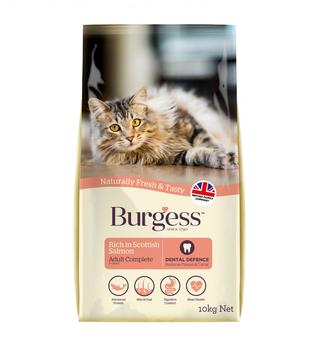 Burgess Scottish Salmon Adult Cat Food