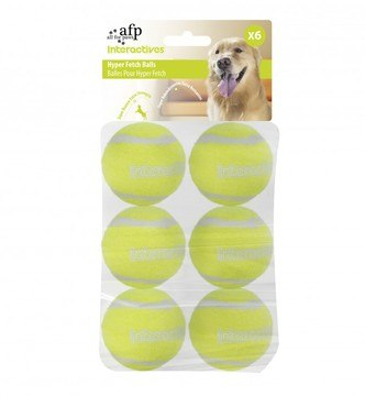 All For Paws Interactives Fetch N Treat Tennis Ball