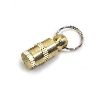 Ancol Dog Brass Id Tube