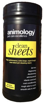 Animology Clean Sheets Pet Wipes
