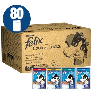 Felix As Good As It Looks Mixed Selection Cat Food Bulk Boxes