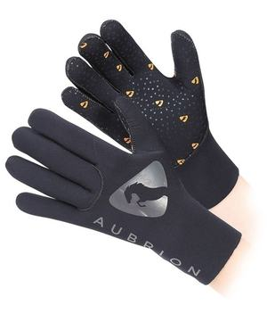 Aubrion Adults Neoprene Yard Gloves Black