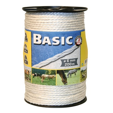 Basic Fencing Rope c/w S/Steel Wires