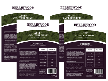 Berriewood Complete Wet Food Breeder Packs