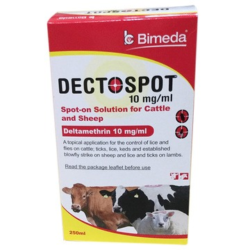 Bimeda Dectospot Spot-On for Cattle & Sheep