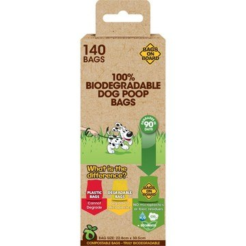 Bramton Advanced Eco Care Corn Starch Poop Bags