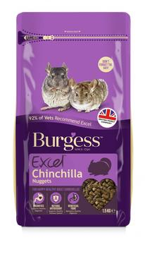 Burgess Excel Tasty Nuggets Chinchilla Food