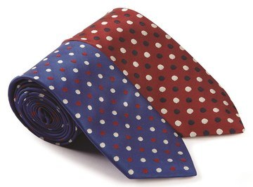 Caldene Ladies Spotted Tie
