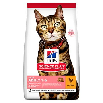 Hill's Science Plan Adult Light Chicken Cat Food