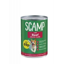 Classic Scamp Beef Dog Food
