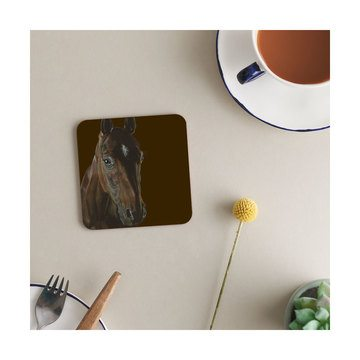 Deckled Edge The Chestnut Melamine Coasters