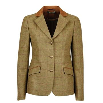Dublin Albany Terr Suede Collar Tailored Jacket