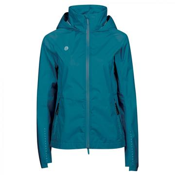 Dublin Cortina Waterproof Jacket Ladies Blue Lagoon