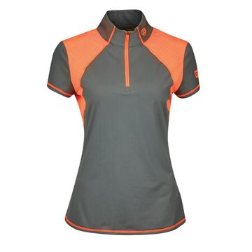 Dublin Danielle Technical 1/4 Zip Silhouette Ladies Event Top