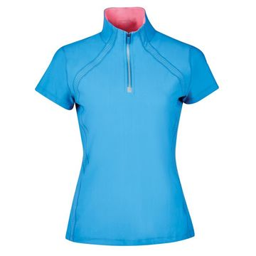 Dublin Maddison Short Sleeve Technical Airflow 1/4 Zip Ladies Top