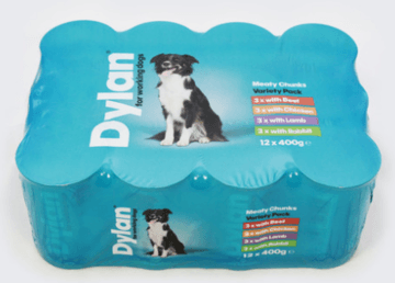 Dylan Wet Dog Food