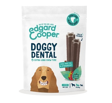 Edgard Cooper Doggy Dental Strawberry & Mint For Medium Dogs