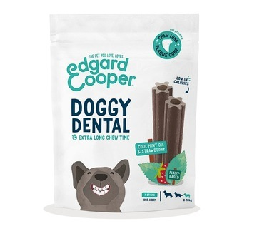 Edgard Cooper Doggy Dental Strawberry & Mint For Small Dogs