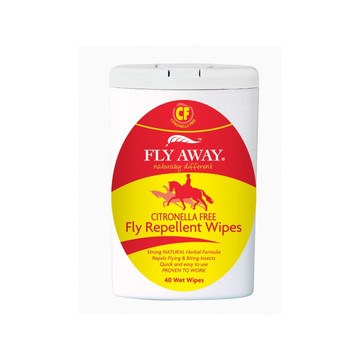 Fly Away Citronella Free Fly And Insect Repellent Wipes
